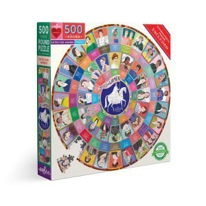 Votes for Women Puzzle sold at Red Fish Blue Fish, a Gift Shop on Hyannis Main Street on Cape Cod